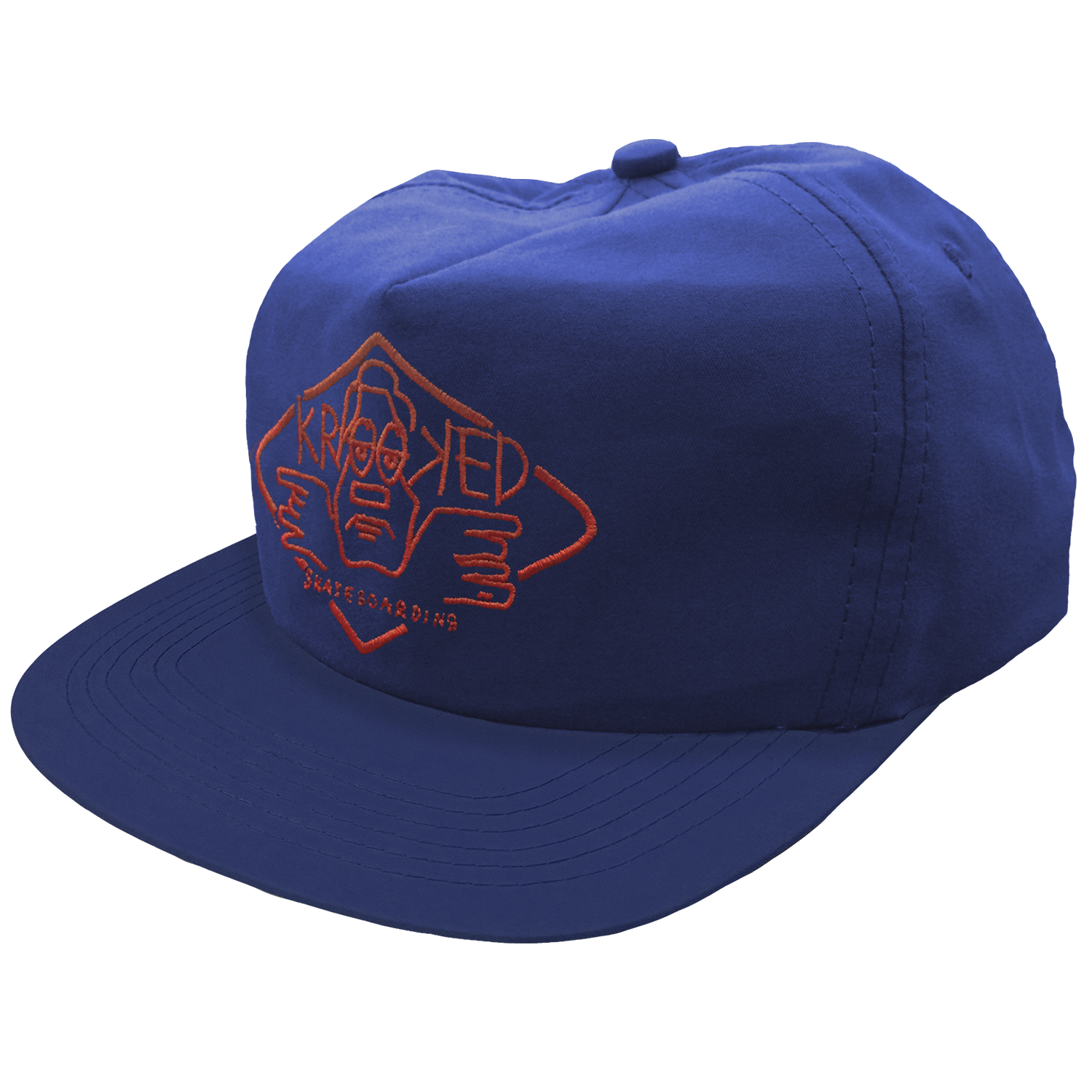 Gorra Krooked Arketype Blue