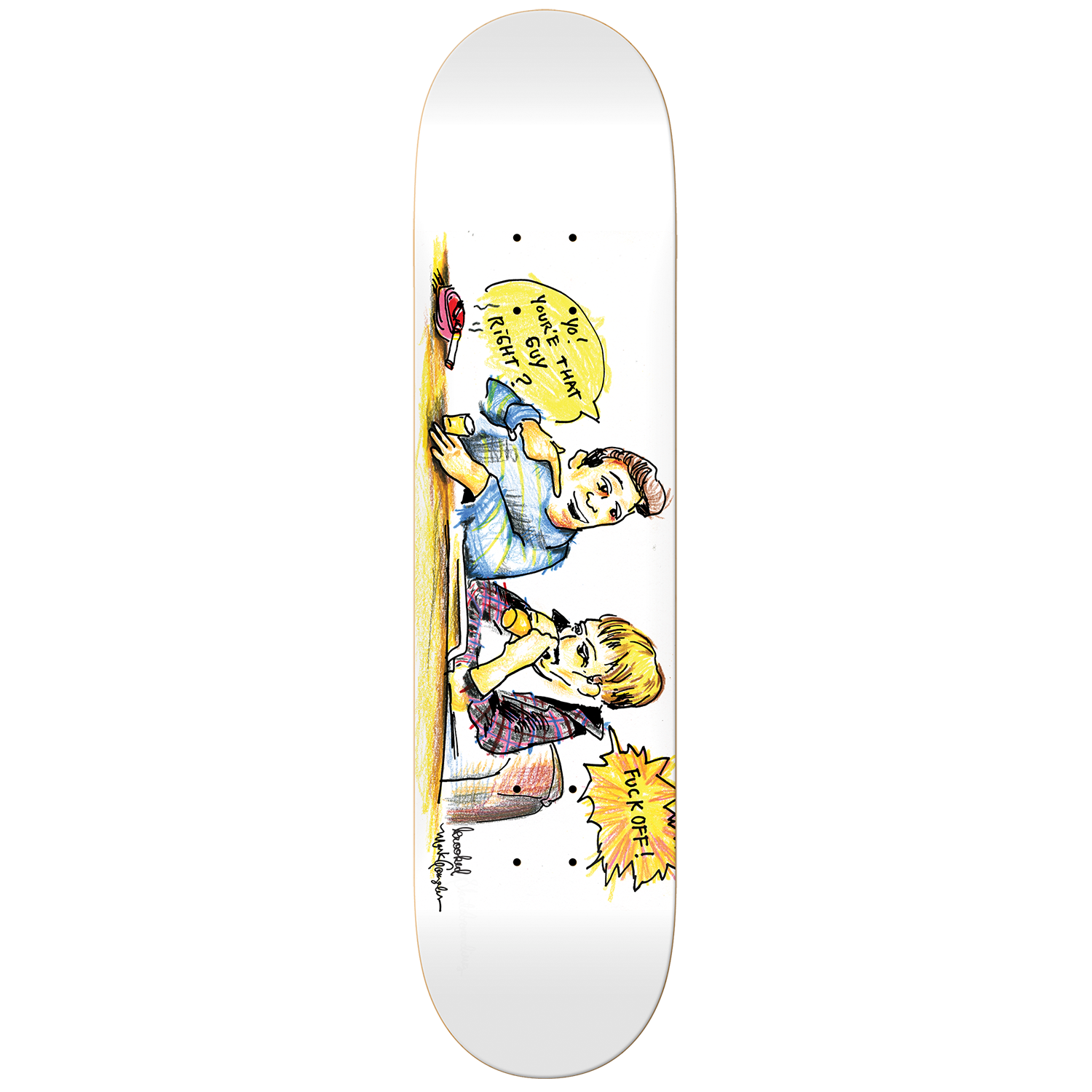 Gonz Smoking - 8.25''