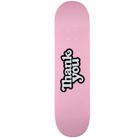 Tabla Thank You Logo pink - 8.25