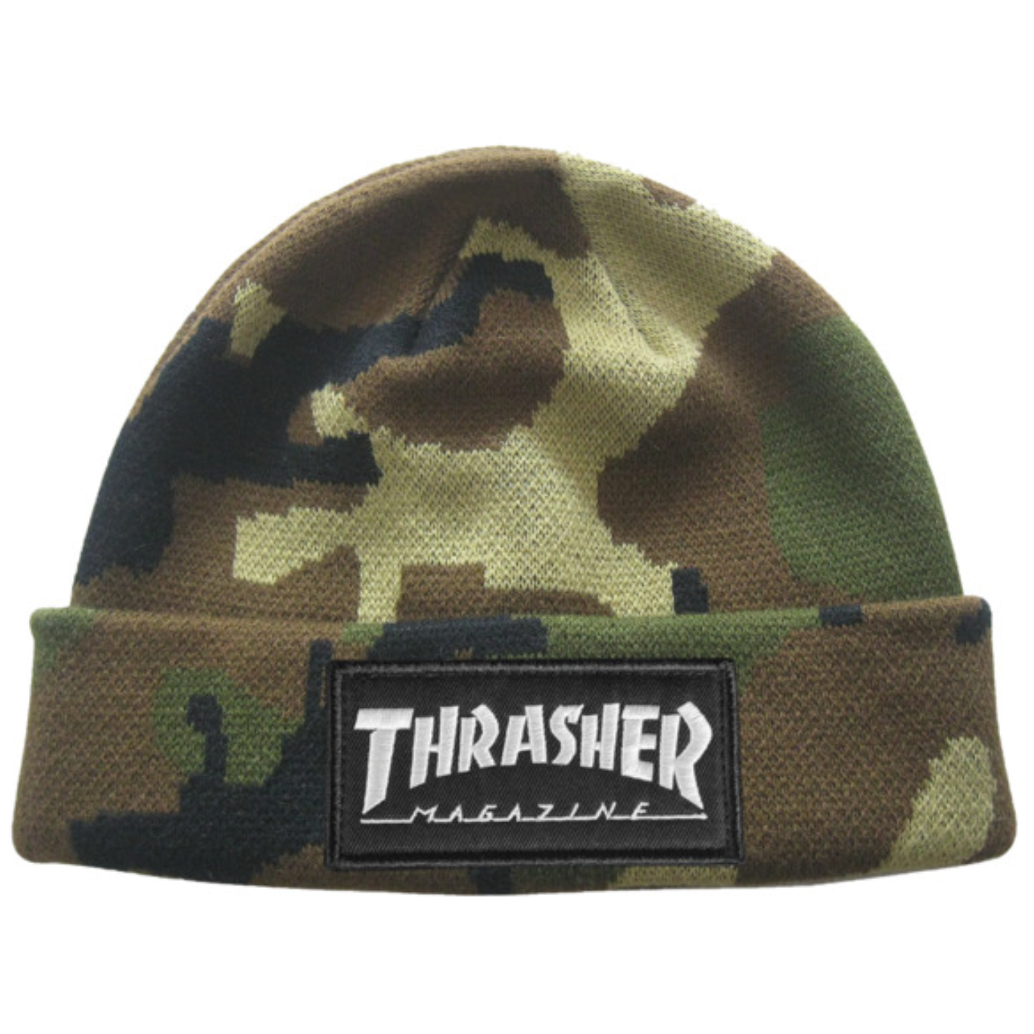 Chullo Thrasher - Logo Patch Camo