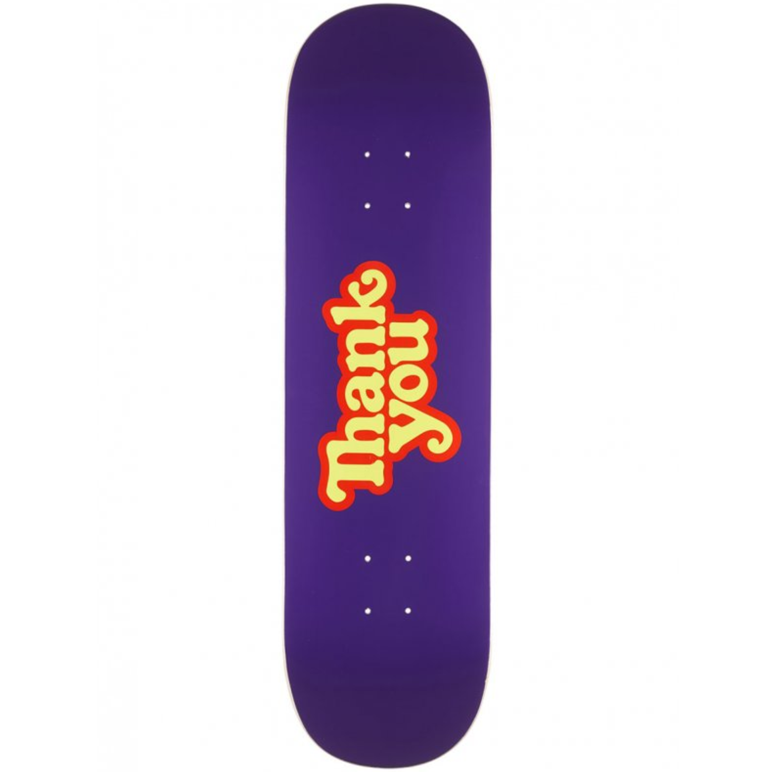 Tabla Thank You Logo purple - 8.5