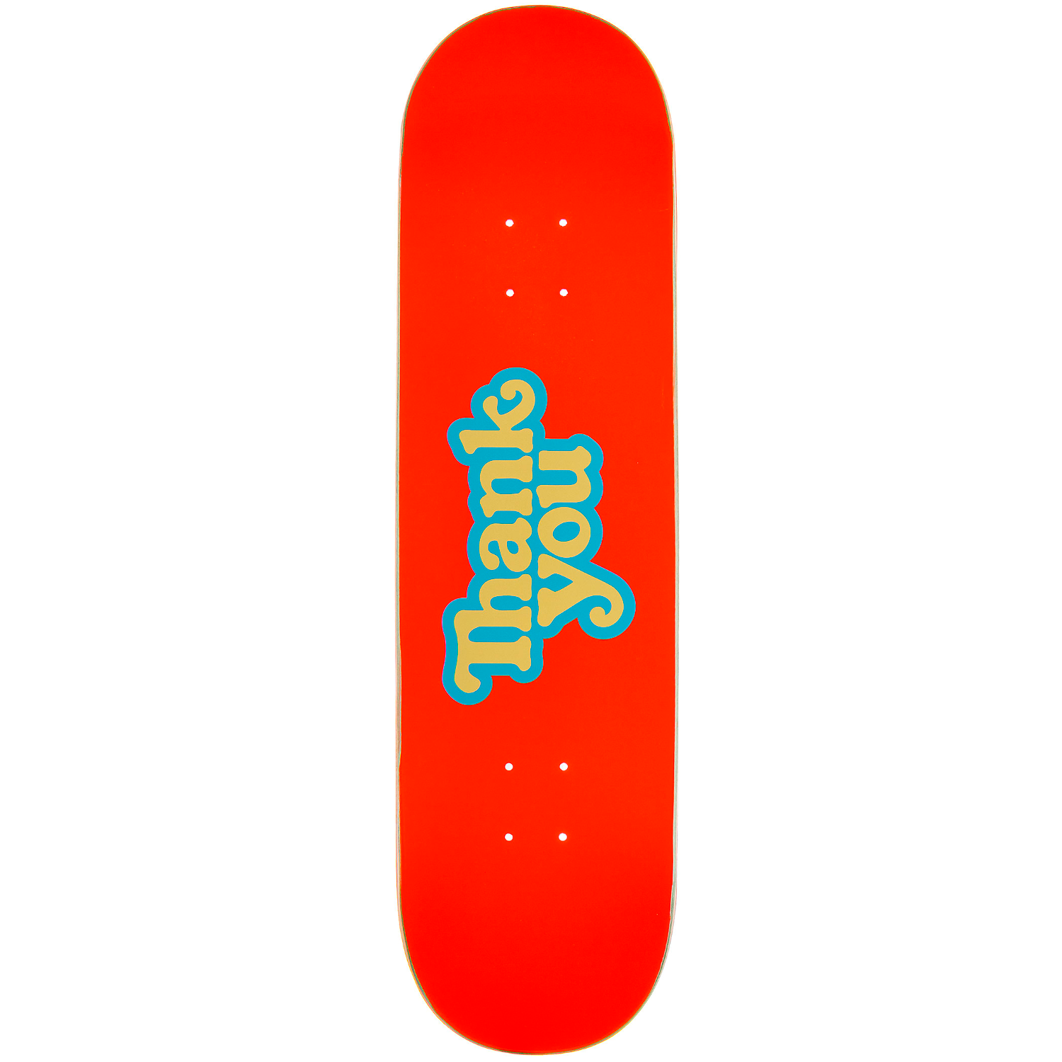 Tabla Thank You Logo orange - 8.5