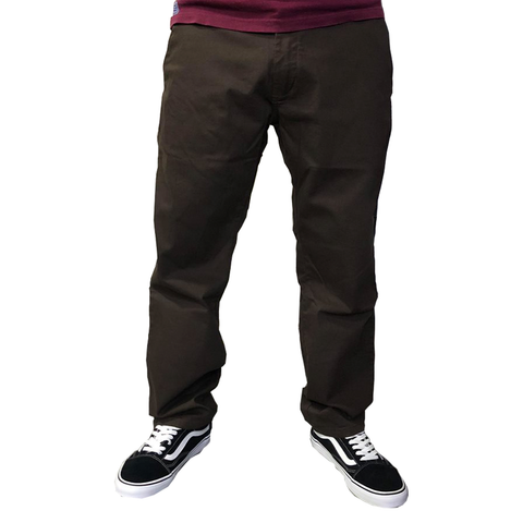 Pantalon V-Natural Chino Marron