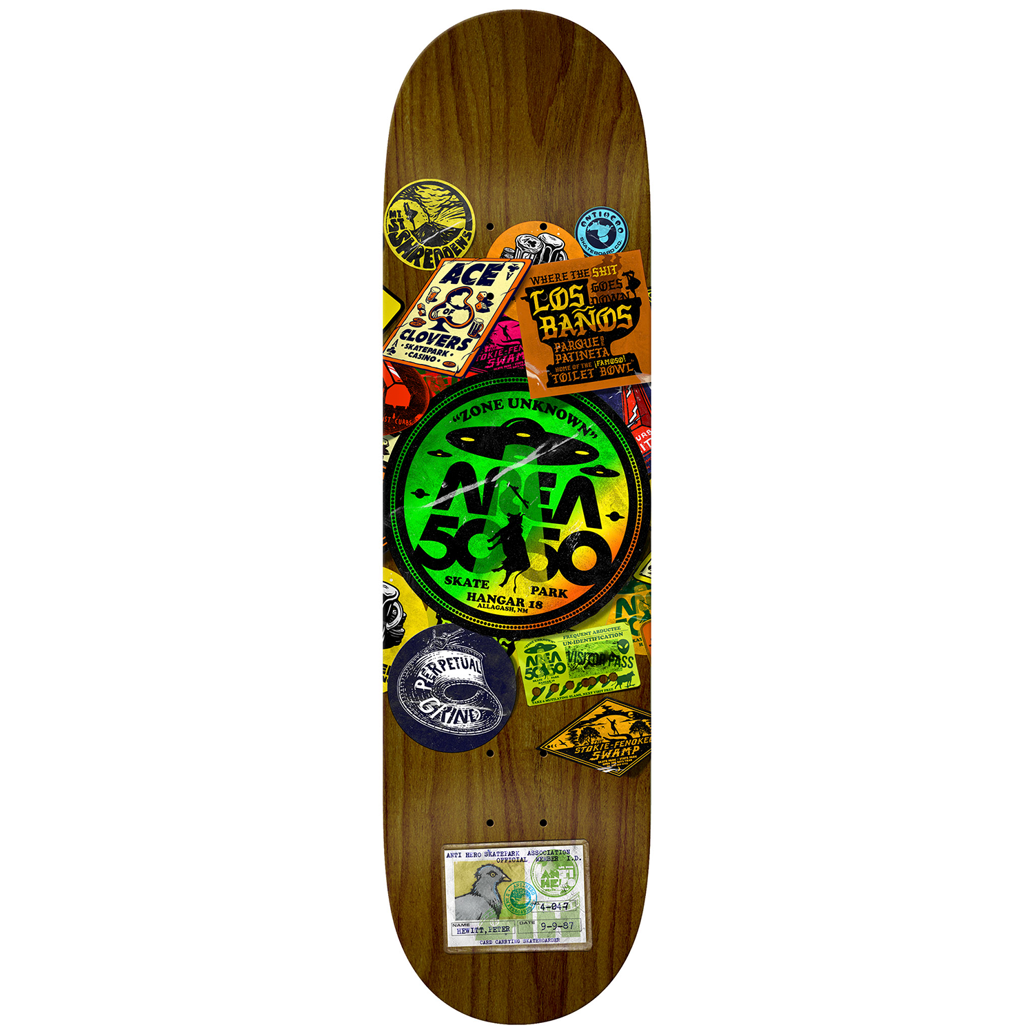 Tabla Antihero Hewitt Park Board - 8.62''