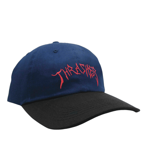 Gorra Thrasher x Lotties navy