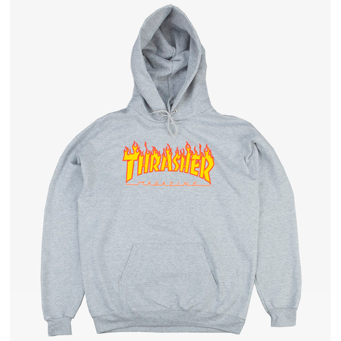 Capucha Thrasher - Flame Grey