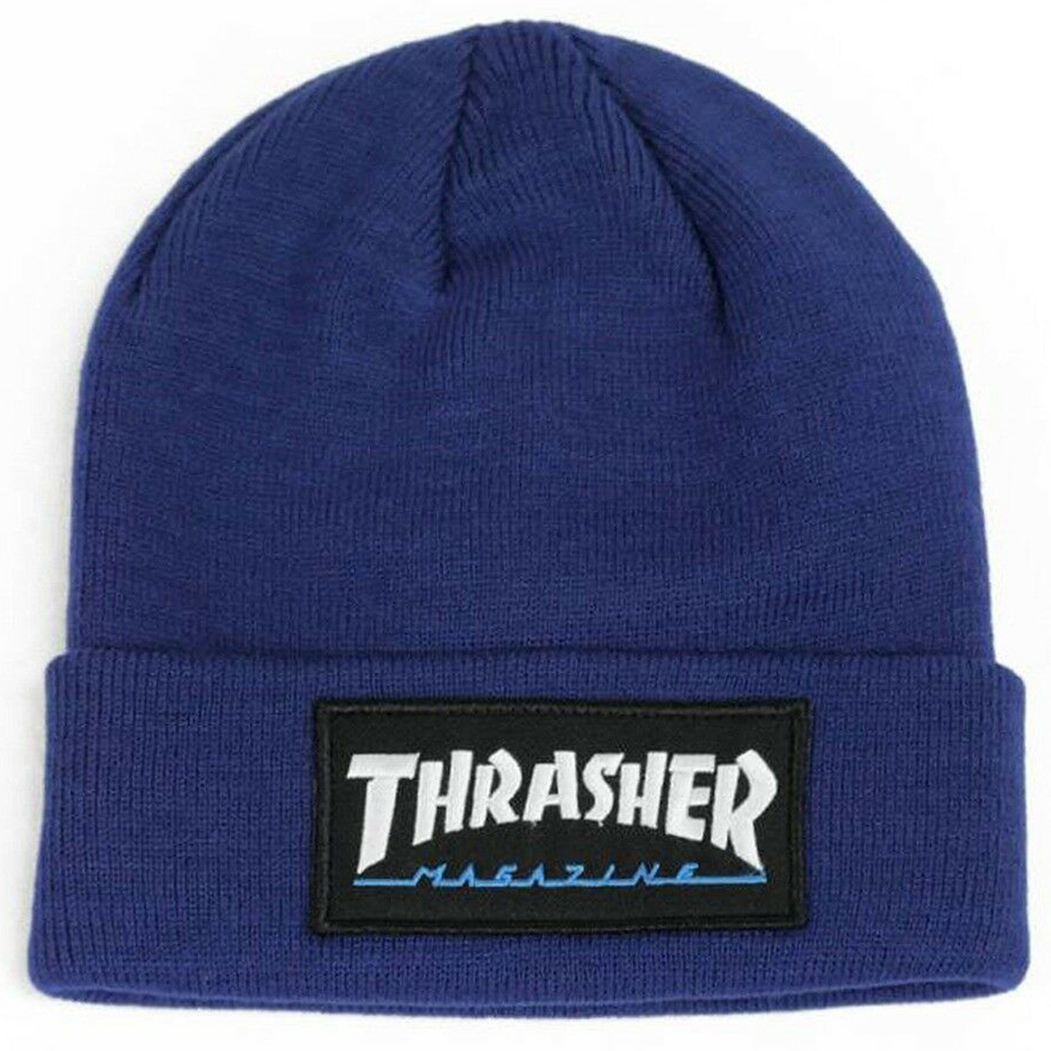 Chullo Thrasher - Logo Patch Blue