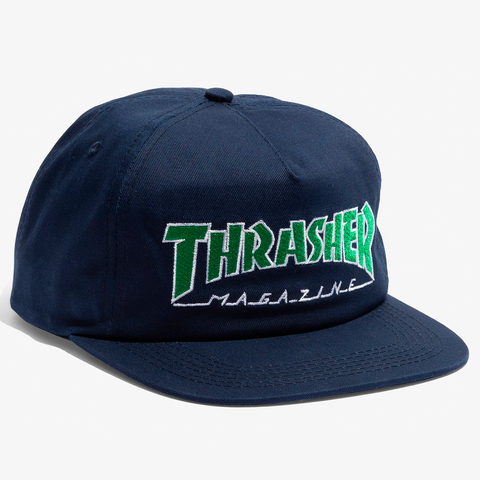 Gorra Thrasher - Outlined blue