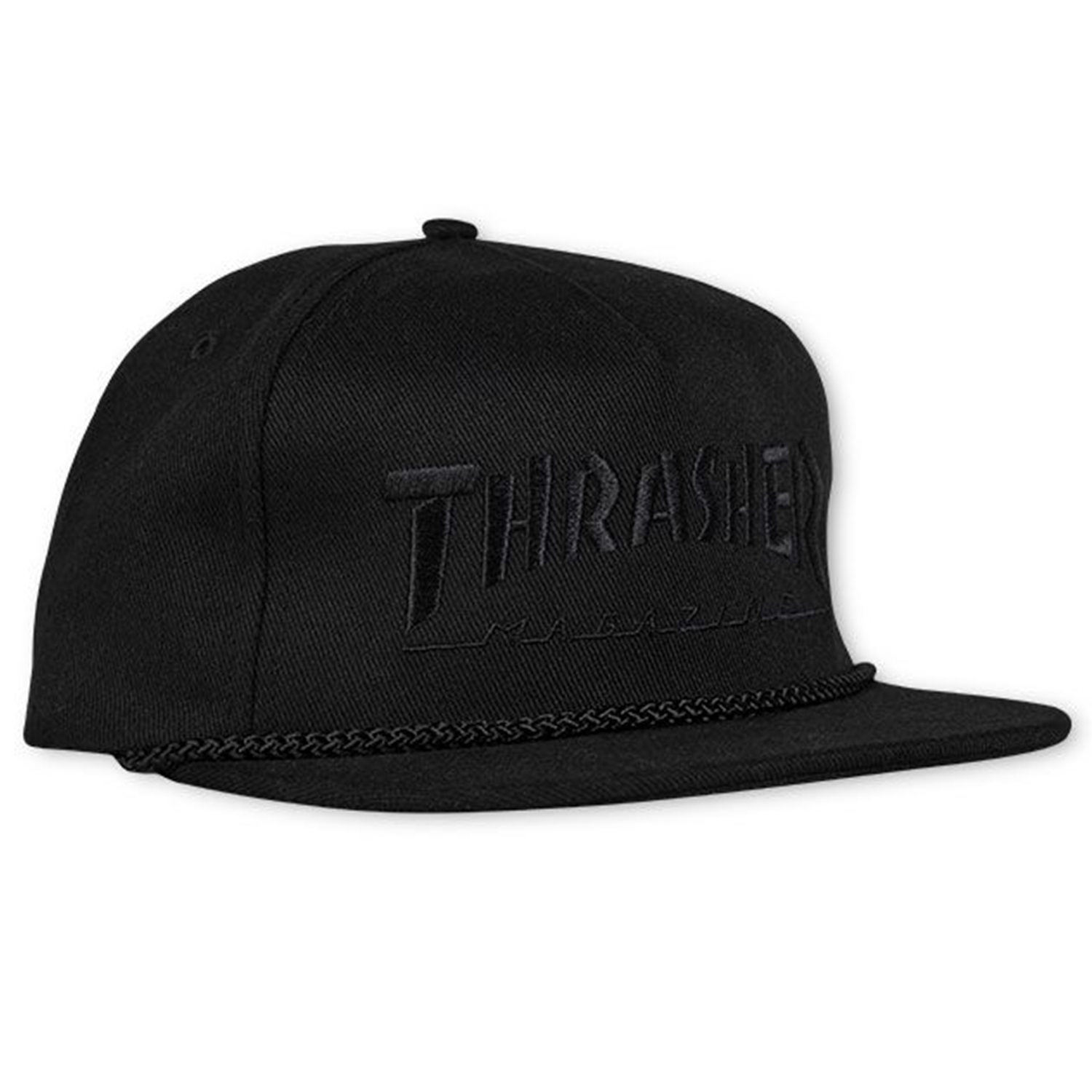 Gorra Thrasher Rope Black/Black