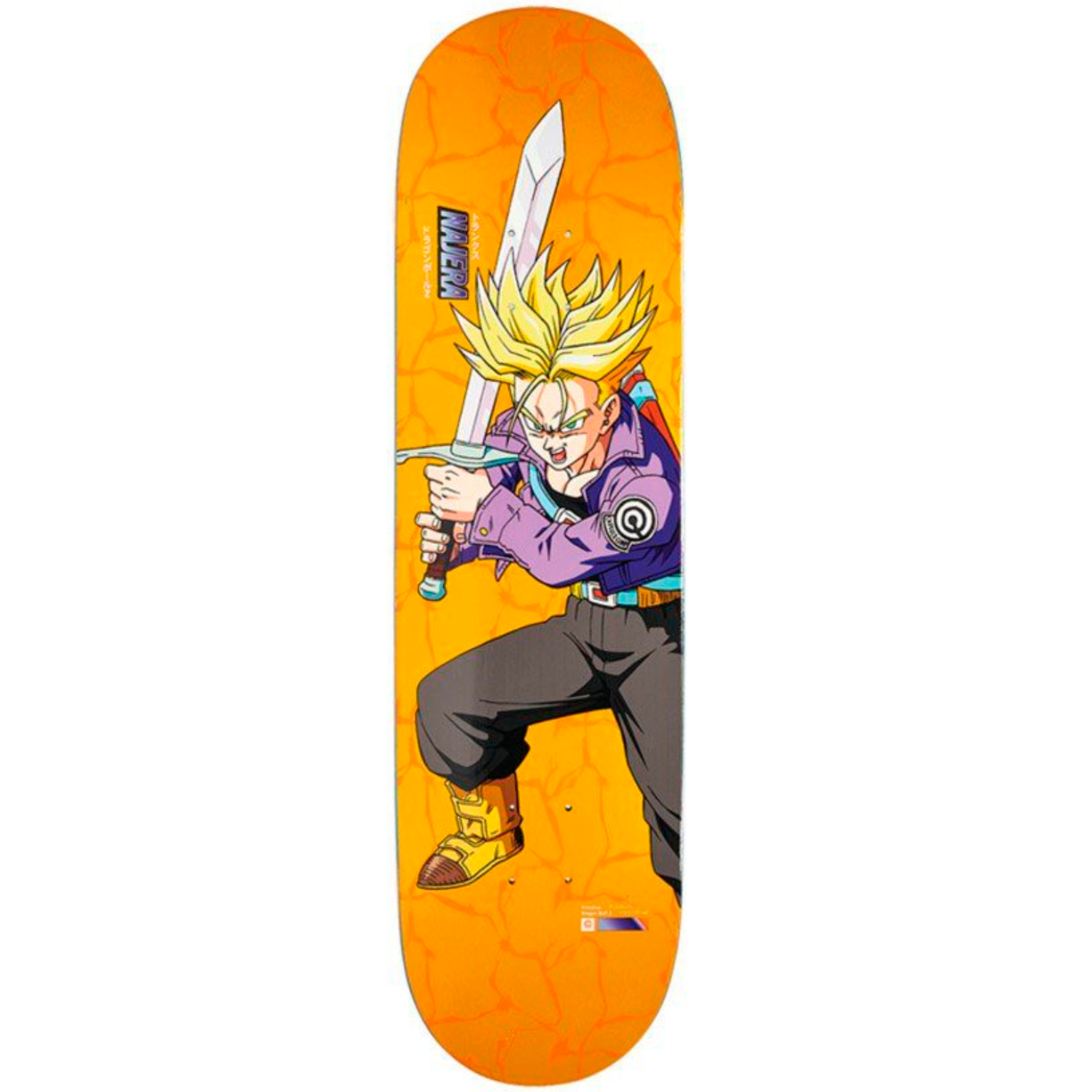 Tabla Primitive x DBZ Najera Super Saiyan Trunks - 8.12