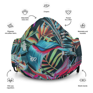 TBO Limited Edition Hawaiian Face Mask V1