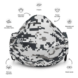 TBO Limited Edition Digital Camo Face Mask V3