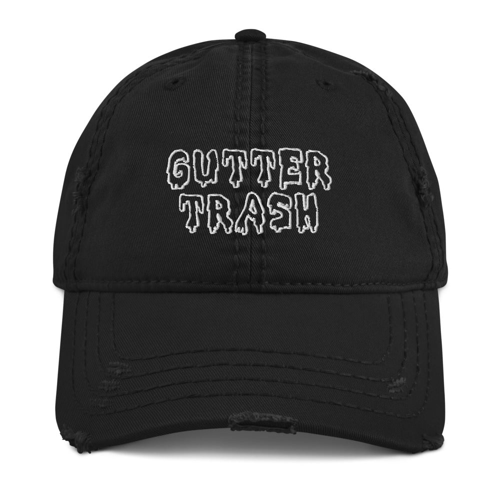 TBO x Gutter Trash Limited Edition Distressed Dad Hat