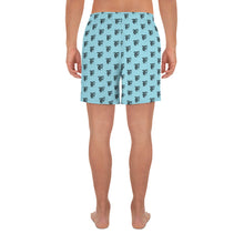 Load image into Gallery viewer, TBO Launch 2020 WUBBIES Men's Athletic Swim/Run Shorts (Babe Blue)