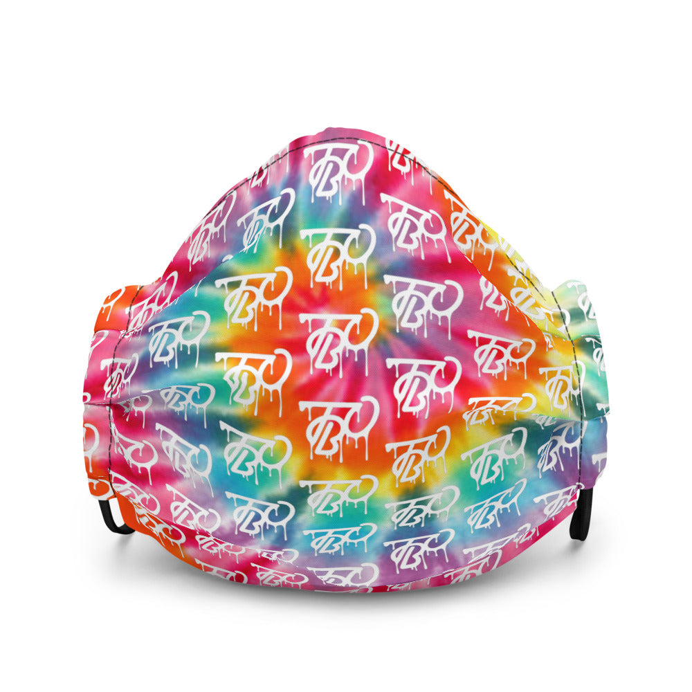 TBO Limited Drip Tie-Dye Face Mask V3