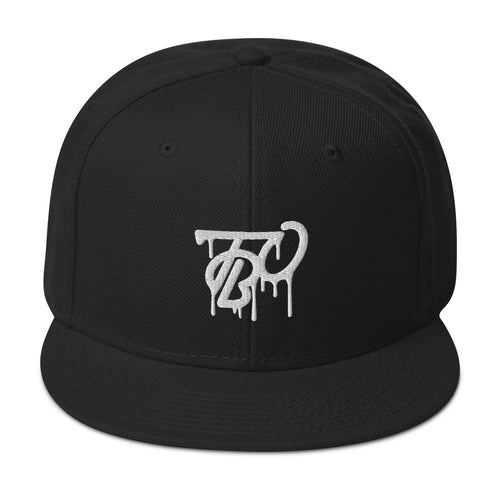 Team Blackout Limited Edition Puff Drip Snapback Hat