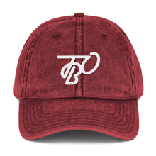 Load image into Gallery viewer, TBO Maroon Vintage Dad Hat