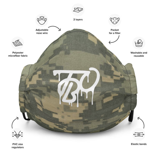 TBO Limited Edition Digital Camo Face Mask V1