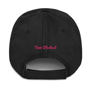 Team Blackout Neon Dreams 2020 Distressed Dad Hat