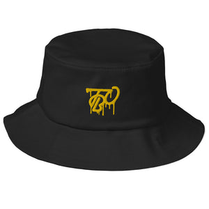 TBO Limited Edition Knight-Life Black & Gold Old School Bucket Hat