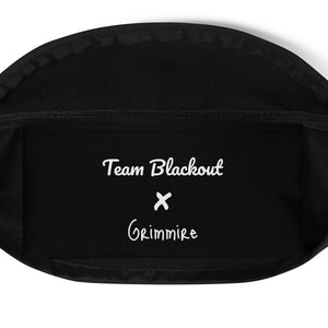 Team Blackout x Grimmire Limited Edition Blood Clout Drip Cross-body
