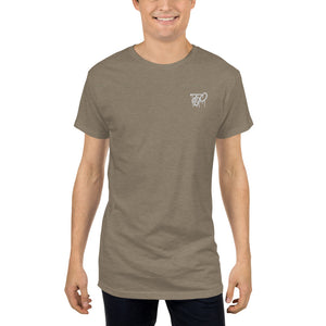 TBO Drip Embroidered Long Body Urban Tee