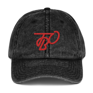 TBO Red Vintage Dad Hat