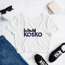 Load image into Gallery viewer, TBO x Kosko Limited Edition Dark Matter Women's Crop Tee