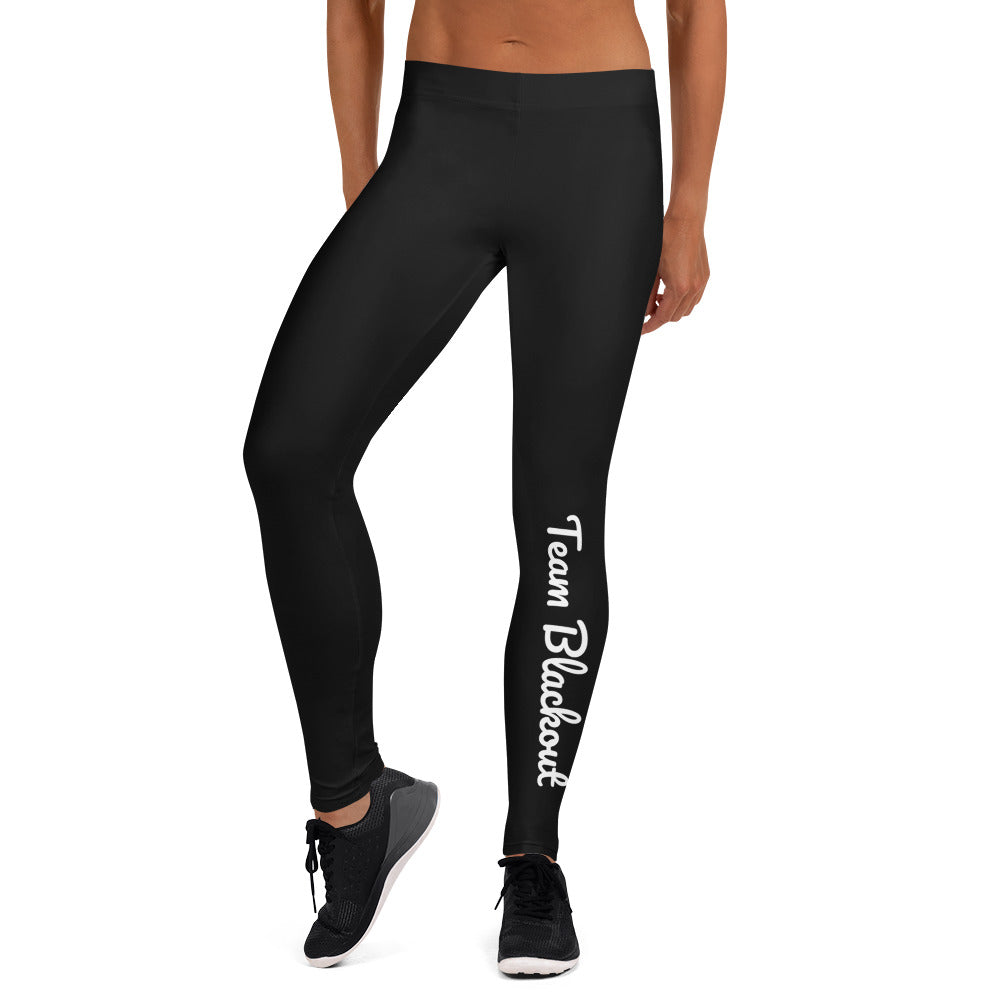 Team Blackout LuLu Who? Limited Edition Leggings