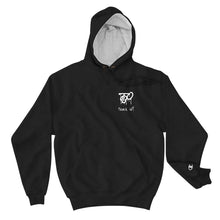 "Load image into Gallery viewer, Team Blackout ""Track ID?"" Champion Hoodie"