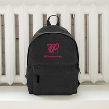 Load image into Gallery viewer, TBO Courtney Limited Edition Backstage Embroidered Backpack