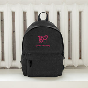 TBO Courtney Limited Edition Backstage Embroidered Backpack