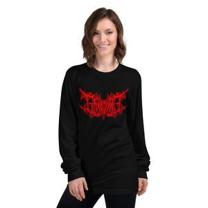 Team Blackout x Grimmire Limited Edition Blood Clout Long sleeve t-shirt