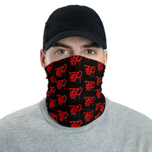 Load image into Gallery viewer, Team Blackout Blood Clout Buff Drip Logo Neck Gaiter