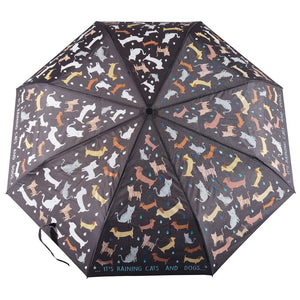 Raining Cats & Dogs Color Changing Umbrella