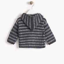 Load image into Gallery viewer, Jude Chunky Knit Cardigan in Monochrome