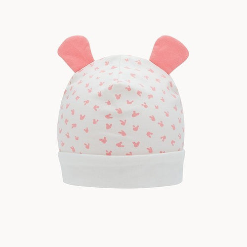 Pink Bunny Hat With Ears