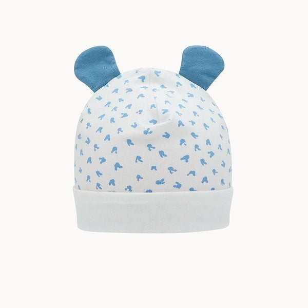Blue Bunny Hat With Ears