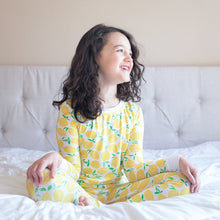 Load image into Gallery viewer, Lemons Two Piece PJ Set