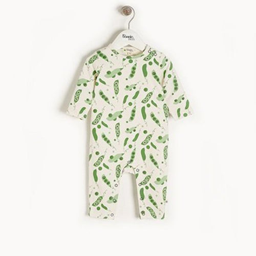 Organic Cotton Pea Playsuit