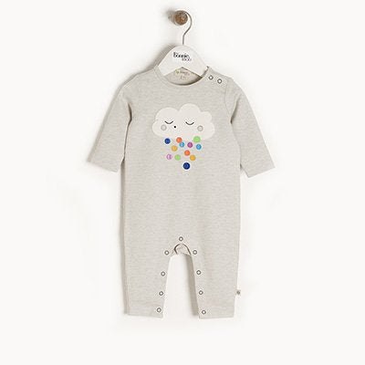 Raincloud Applique Playsuit