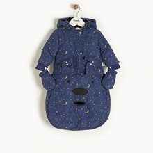 Load image into Gallery viewer, Navy Cosmos Pramsuit