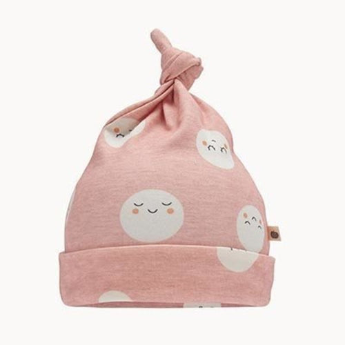 Pink Snowmoon Baby Hat