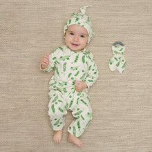 Load image into Gallery viewer, Organic Cotton Pea Playsuit