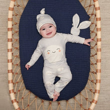 Load image into Gallery viewer, Grey Snowmoon Baby Hat
