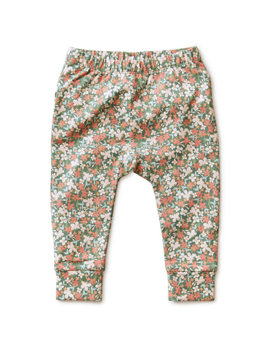 Cyprus Floral Ruffle Pants