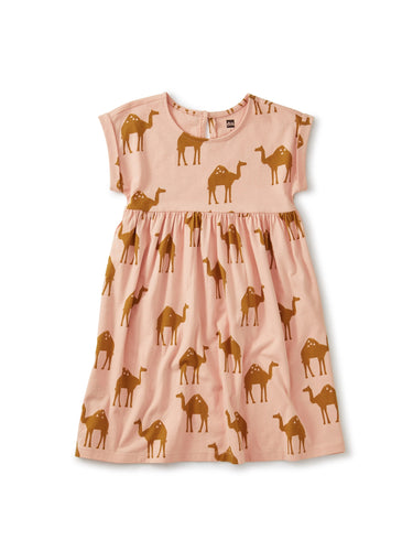 Oasis Camels Empire Dress