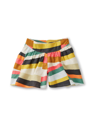 Rug Chevron Patterned Culotte Shorts