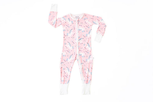 Pink Unicorns Zippy Pajama