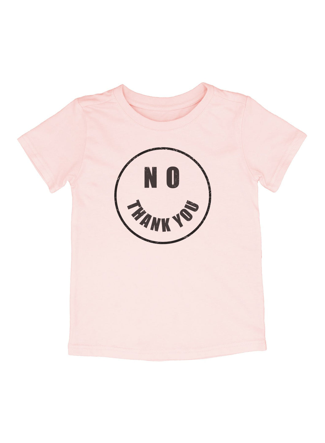Pink No Thank You Shelby Tee